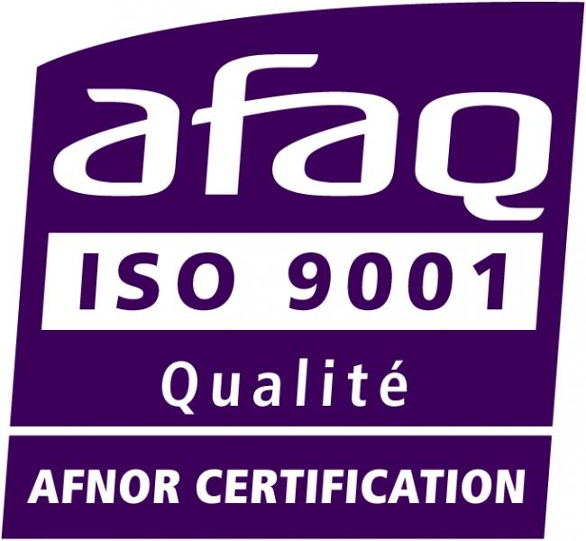 Logo afaq iso 9001 qualité