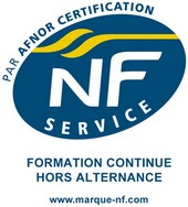 Logo Nf service fromation continue hors alternance